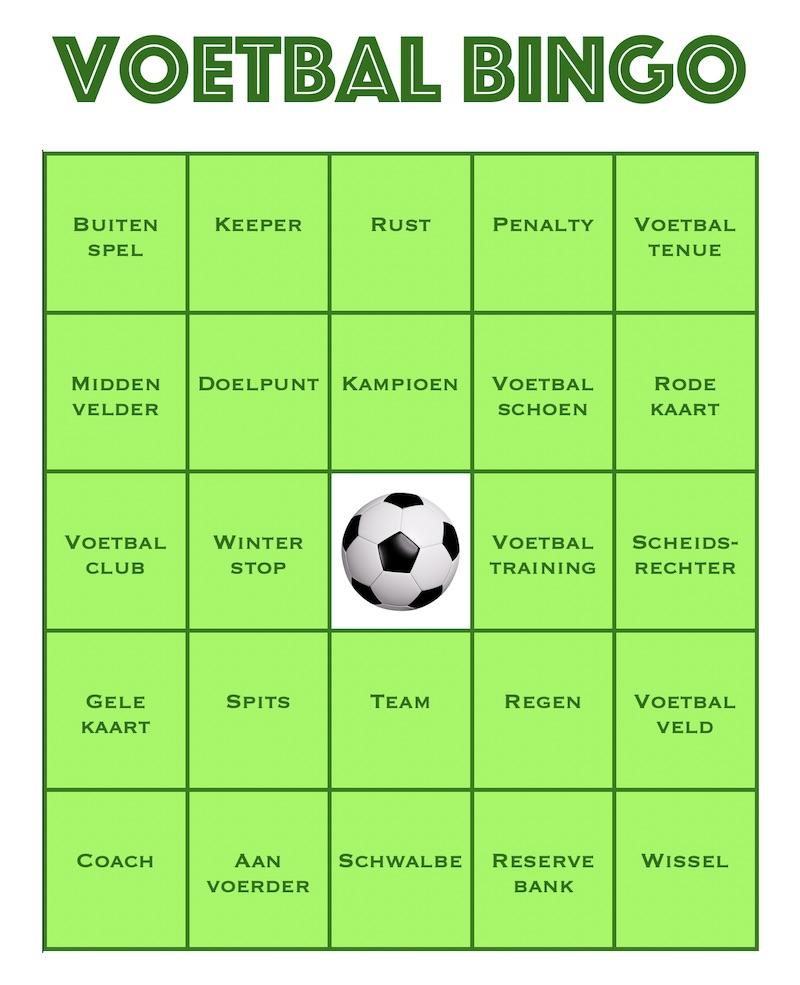 feestje voetbal kind