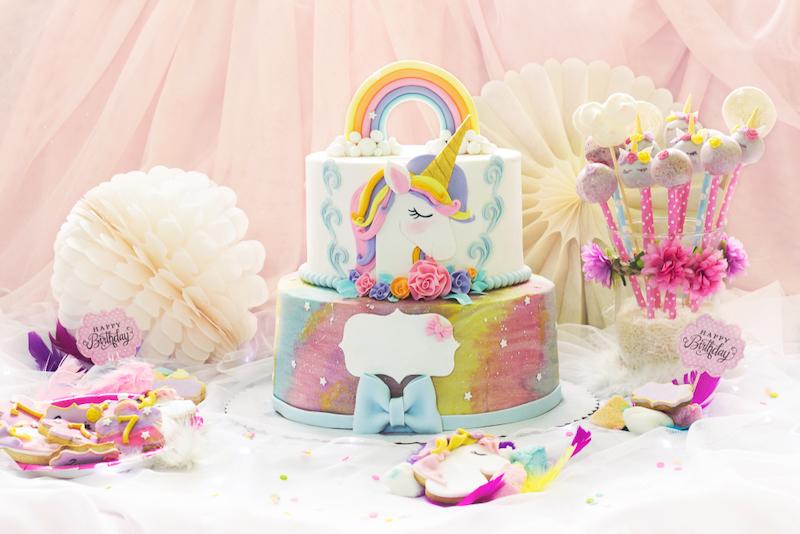 taart unicorn
