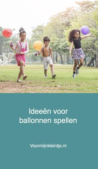 spellen met ballon