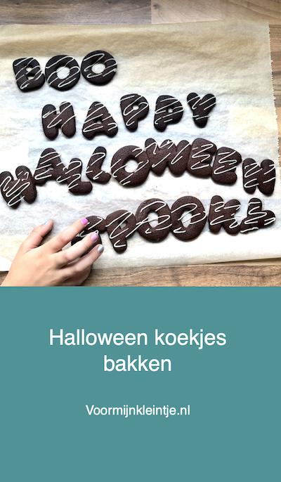 koekjes bakken halloween