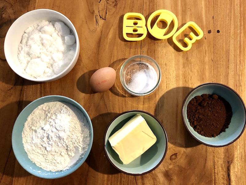 ingredienten halloween koekjes