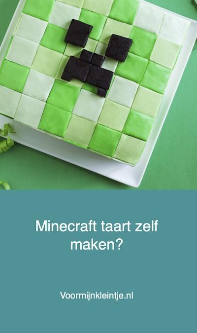 zelf taart minecraft