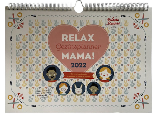 relax mama familieplanner 2022