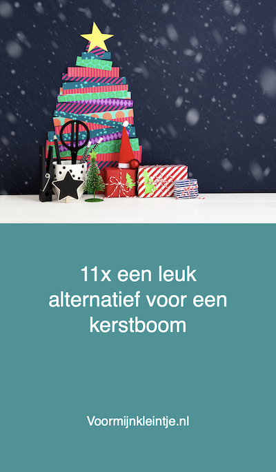 kerstboom opzetten alternatief