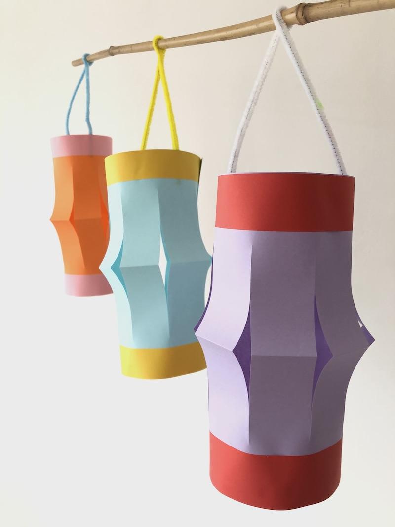 lampion maken papier