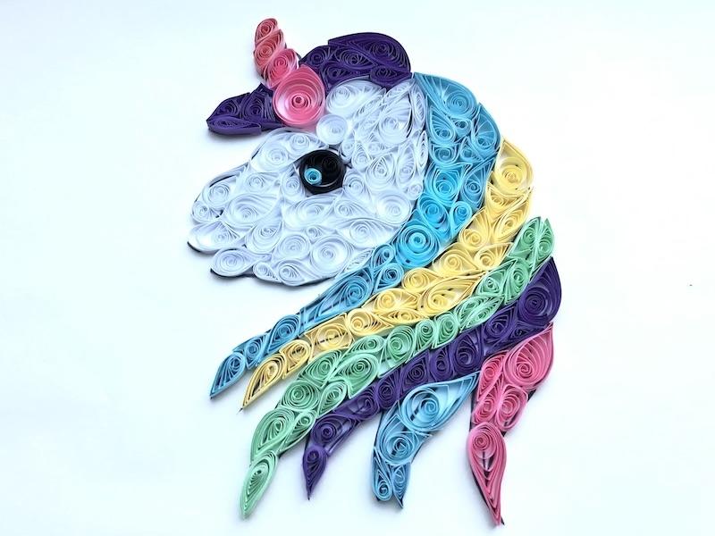 unicorn filigraan