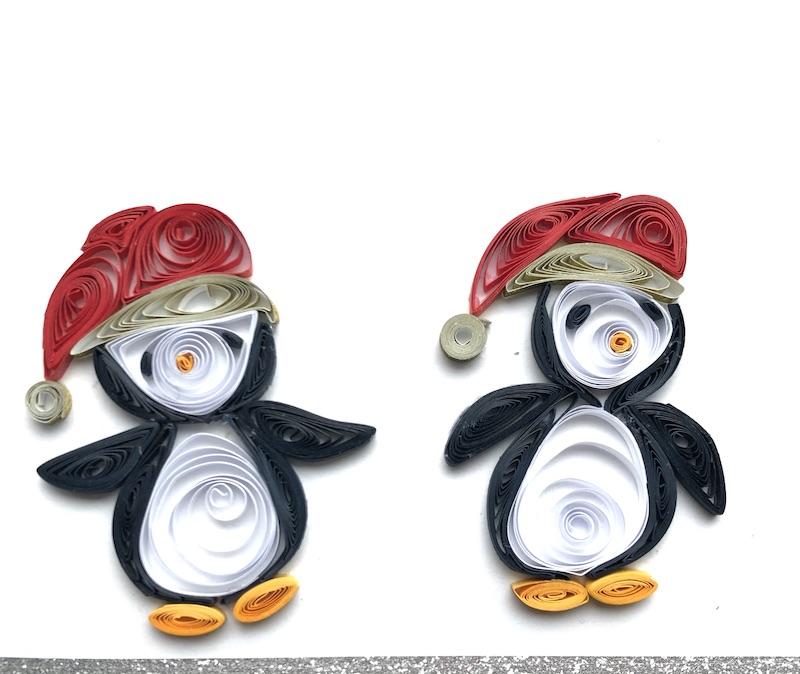 pinguins filigraan