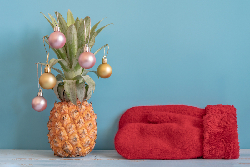 kerstboom ananas