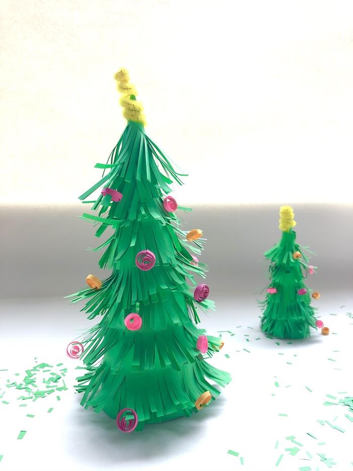 knutselen kerstboom