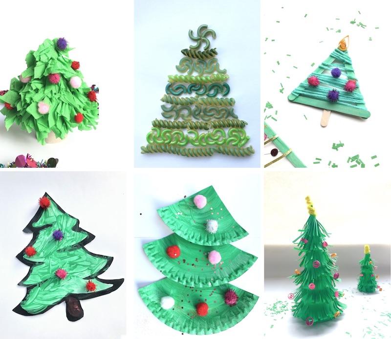 kerstknutsels bomen