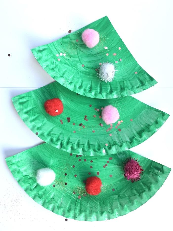 simpele kerstboom knutselen