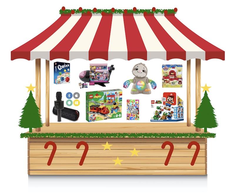 kinderen kerstmarkt