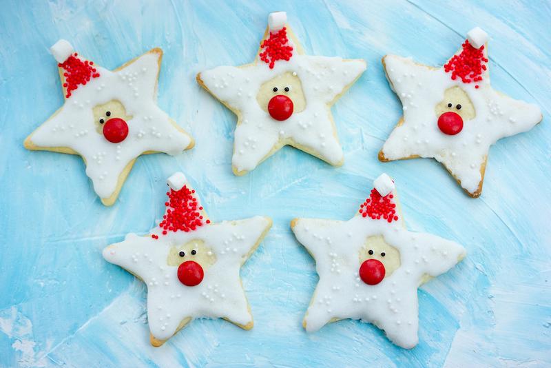 ster kerstkoekjes
