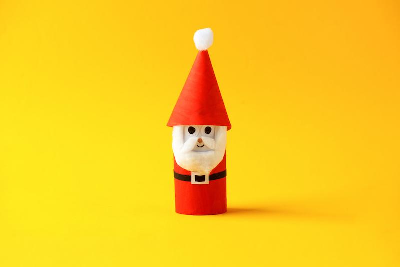 wc rol knutselen kerst