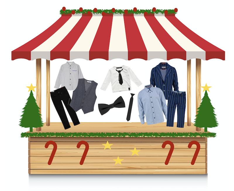 online kerstmarkt feestoutfit