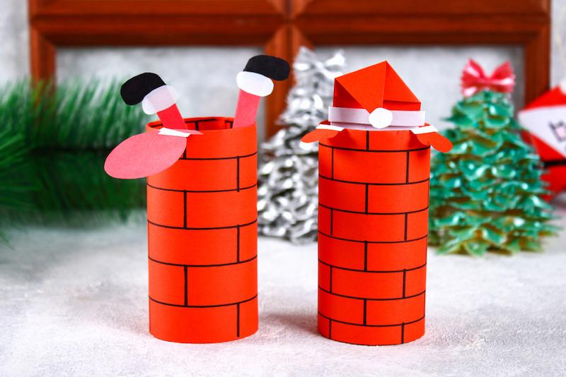 wc rol kerstknutsel