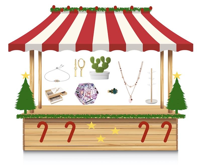 online kerstmarkt kraam