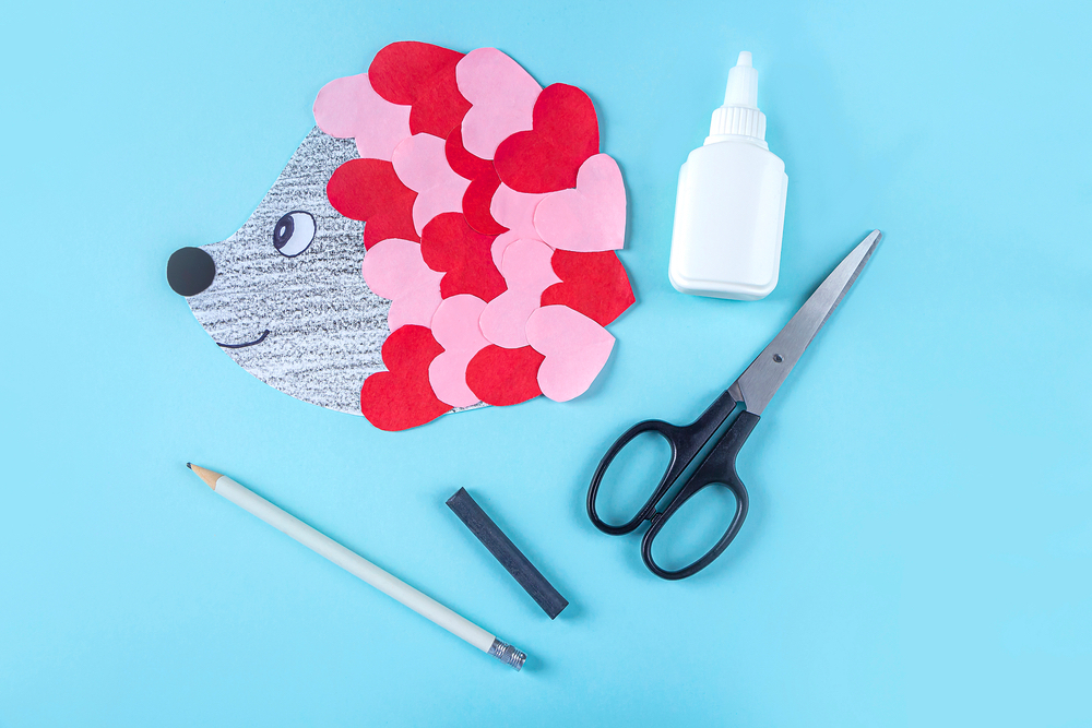 egeltje knutselen valentijn