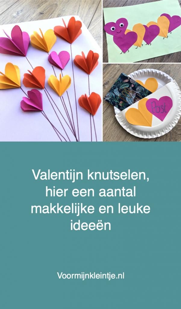 hartjes knutselen valentijn