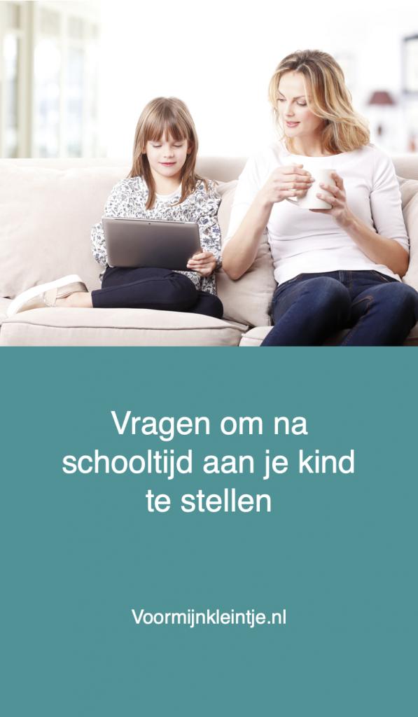 kinderen praten school