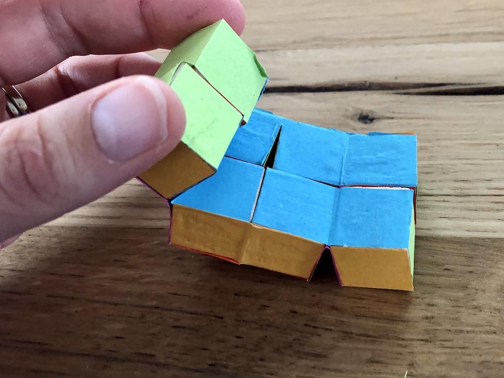 infiniti cube maken