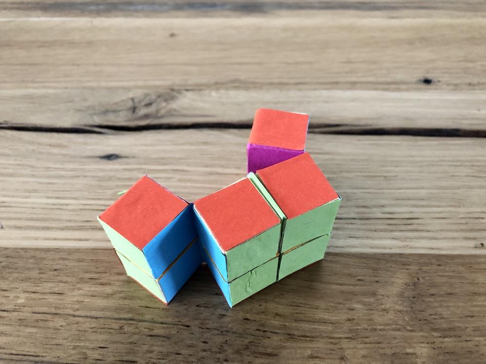 cube fidget maken