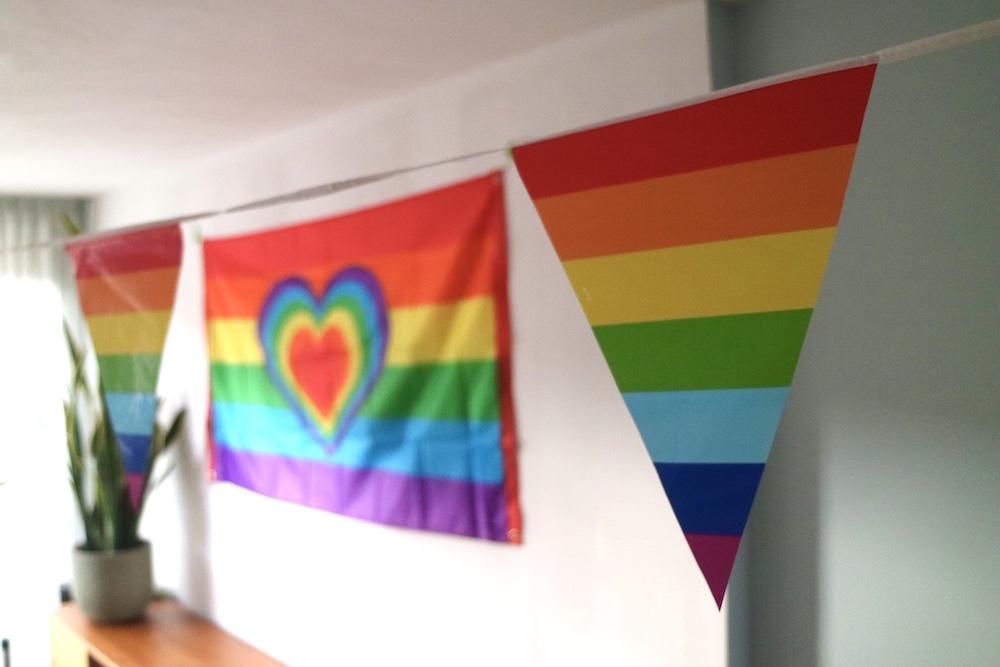 versiering regenboog