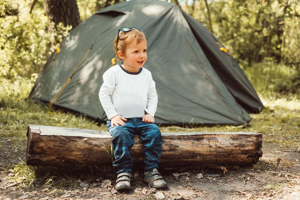 kamperen kinderen