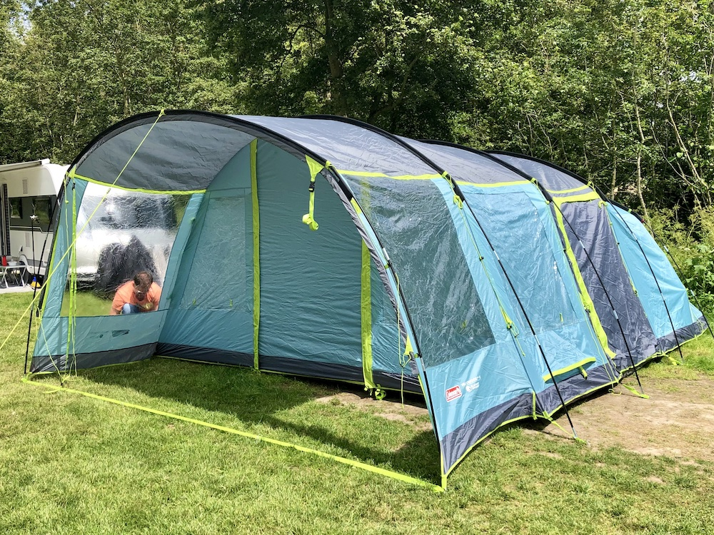 review tunnel tent
