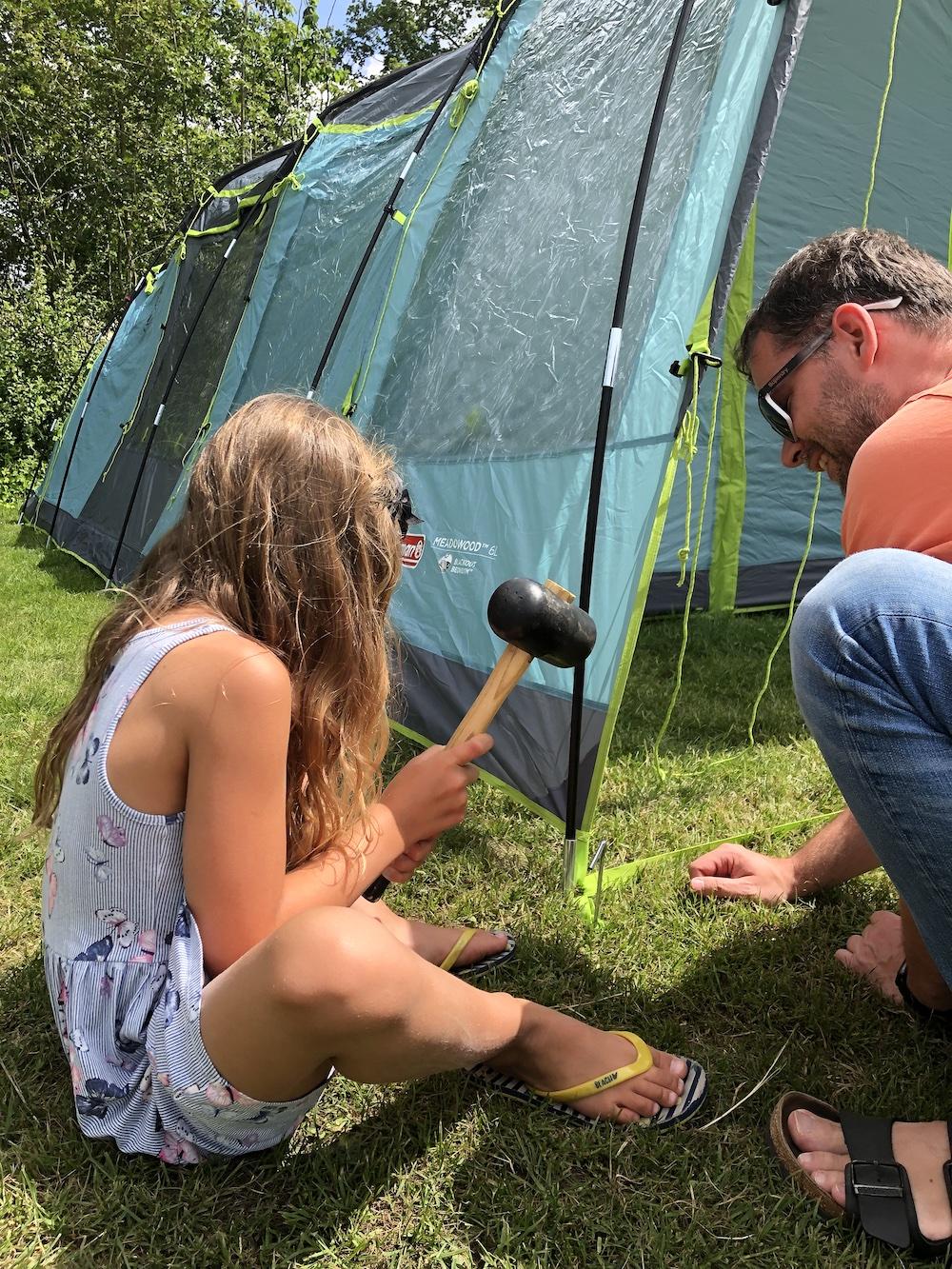 review coleman tent