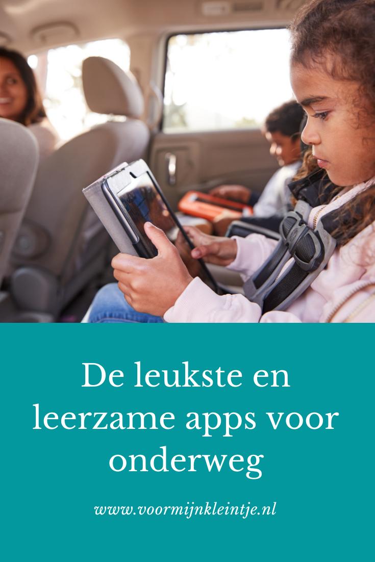 leuke apps onderweg kind