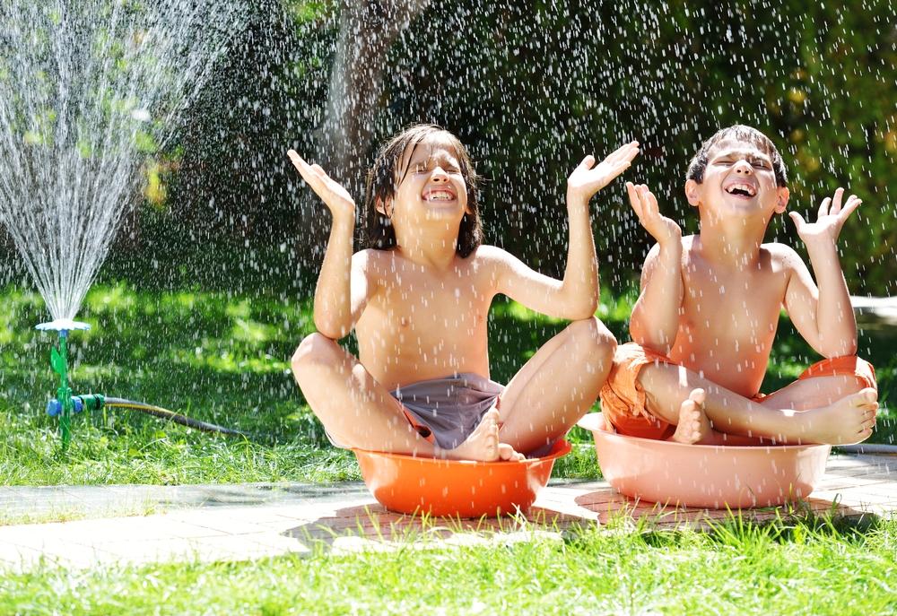 water spelen kinderen